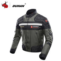 DUHAN Men S Motocross Off Road Jaqueta Oxford Cloth Waterproof Motorcycle Riding Racing Moto Jacket With