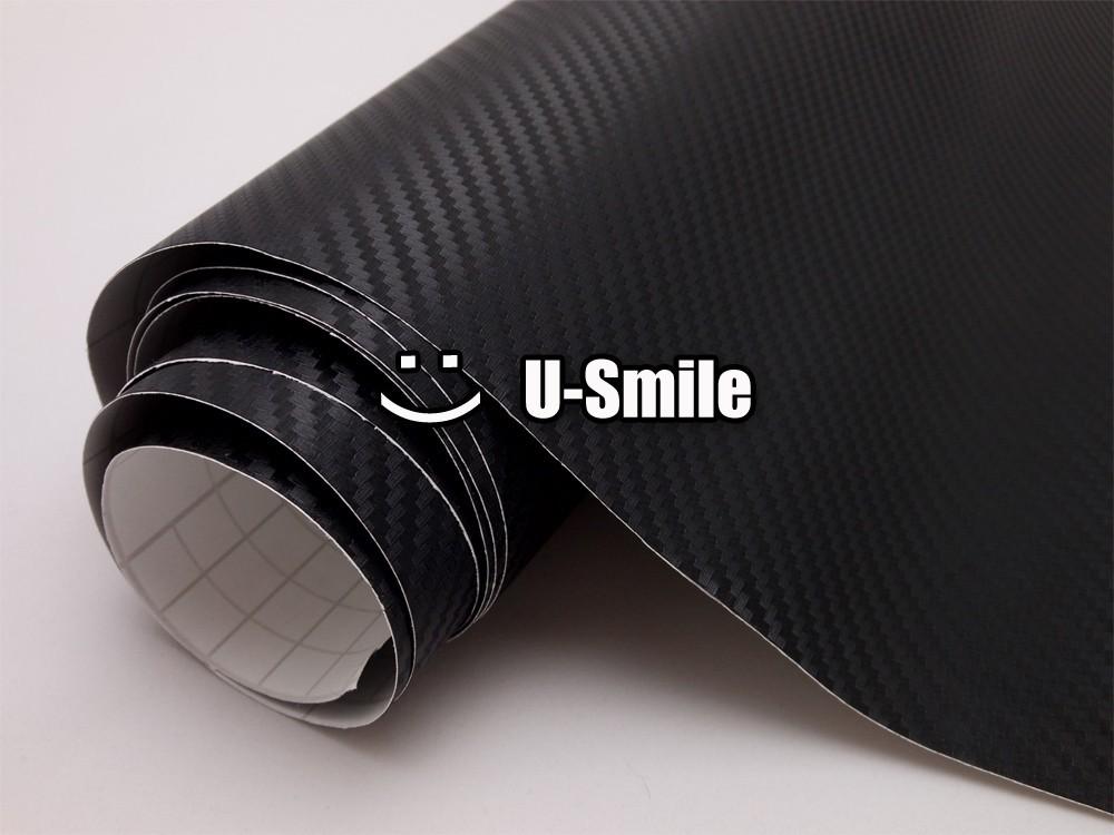 Black-3D-Carbon-Fibre-Vinyl-Roll-Wrap-03
