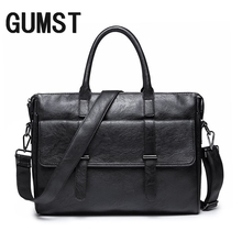 GUMST Brand Men Laptop Bag Briefcase Fashion Men's Business
