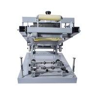 Цилиндр Экран печатная машина для ручки, Бутылочки или Другое круглый продукты Руководство Круглый поверхности Экран печатная машина