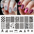 Selected Classic Patterns Nail Art Stamp Template Image Plate BORN PRETTY BP-L006 12.5 x 6.5cm #17924