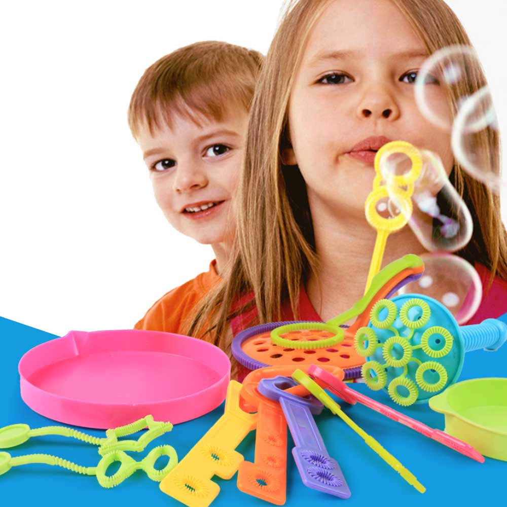 13pcs/set Empty Blowing Bubble Soap Tools Toy Bubble Sticks Set Outdoor Bubble Toys For Children Wedding Birthday Party Toys Outdoor Fun & Sports Bubbles