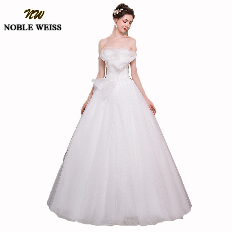 NOBLE WEISS Strapless Boho Wedding Dresses 2019 Sexy ...
