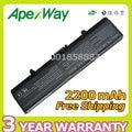 Apexway 2200 mah batería del ordenador portátil para dell inspiron 1525 1526 1545 Vostro 500 CR693 D608H GP252 GP952 GW240 GW241 GW252 HP277 HP287