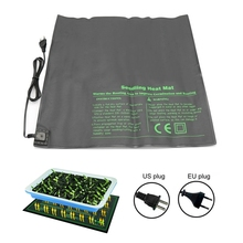52x52 см 45 Вт Нагревательный коврик для рассады семена растений проращивающая теплая гидропонная грелка 110 В/220 В Садовые принадлежности