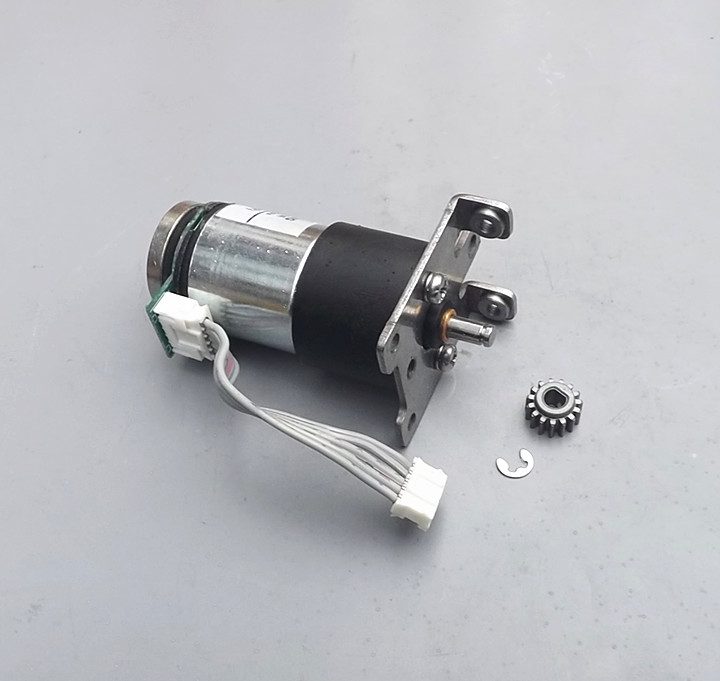 All metal gear DC12v gear motor with encoder encoder speed trolley robot in DC Motor from Home Improvement