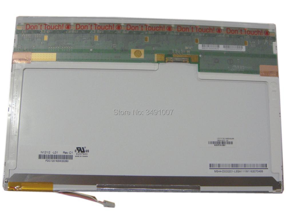 N121I2-L01 Rev C1 20 PIN XF 12.1 inch Laptop LCD Screen Panel la40a550p1r high pressure plate i400h1 20 c a001b screen v400h1 l03 rev c1
