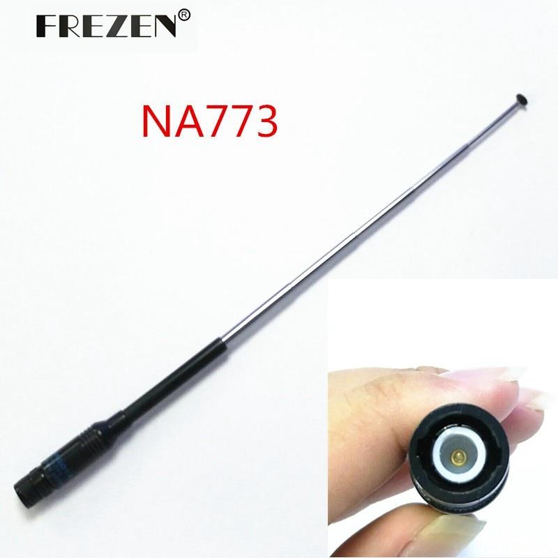 Antenna NA-773 144/430 MHz Telescopic Antenna BNC Connector For ICOM IC-V8/V82 Two Way Radio Free Shipping