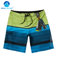 Gailang Brand Men Beach Shorts Quick Drying Swimwear Men Shorts Casual Summer Boardshorts Plus Size XXXL