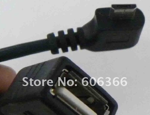 Free Shipping /1PCS/Micro USB Host Mode OTG Cable for Samsung Galaxy S2/SII