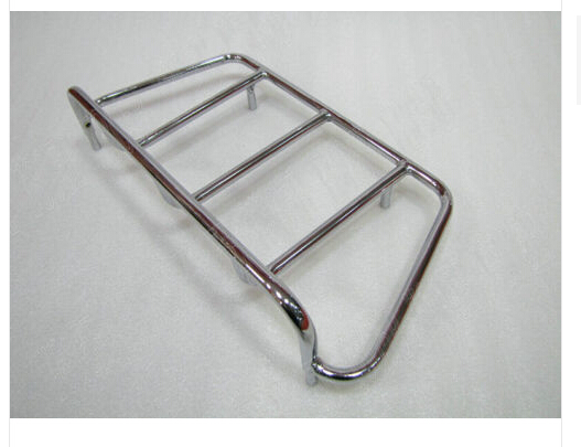 Behendig Motorfiets Bagagerek/top Rail Kofferbak Case Carrier Rack Tour Voor Honda Yamaha Suzuki Kawasaki Harley Bobber Custom Chopper Wees Vriendelijk In Gebruik