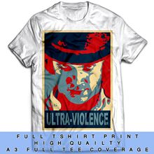 Ultra Violence Inspired Clockwork Orange Stanley Kubrick The Shining T Shirt New T Shirts Funny Tops Tee New Unisex Funny Tops недорго, оригинальная цена