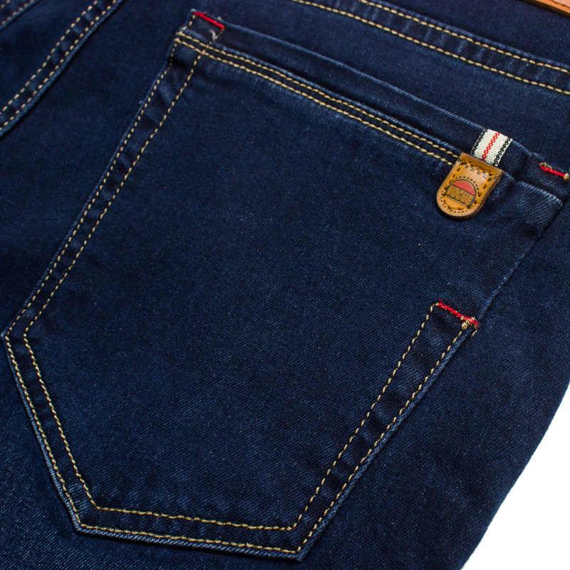 2020 neue Baumwolle Jeans Männer Hohe Qualität Berühmte Marke Denim hosen weichen herren hosen herbst jean mode Große Große größe 40 42 44