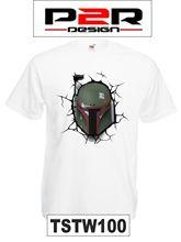 T-shirt Star Wars Boba Fett film movie games TSTW100 Free shipping Print T Shirt Mens Short Sleeve Hot