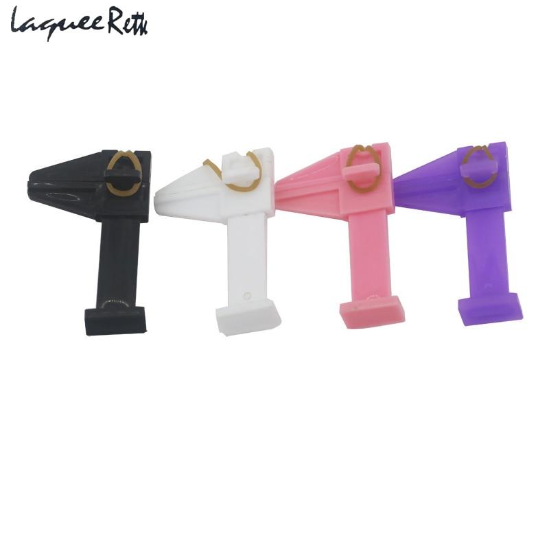 4 шт. Нова модна форма для нігтів для нарощування гелю Nail Art Розташовуючий інструмент Пластиковий затиск для нігтів