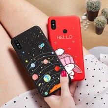 Cute Cartoon Case For Xiaomi Redmi Note 5 6 Pro 6A Case Silicone Bumper Cover For Xiaomi Mi 8 Mi 9 A1 A2 Lite Redmi Note 7 Funda все цены