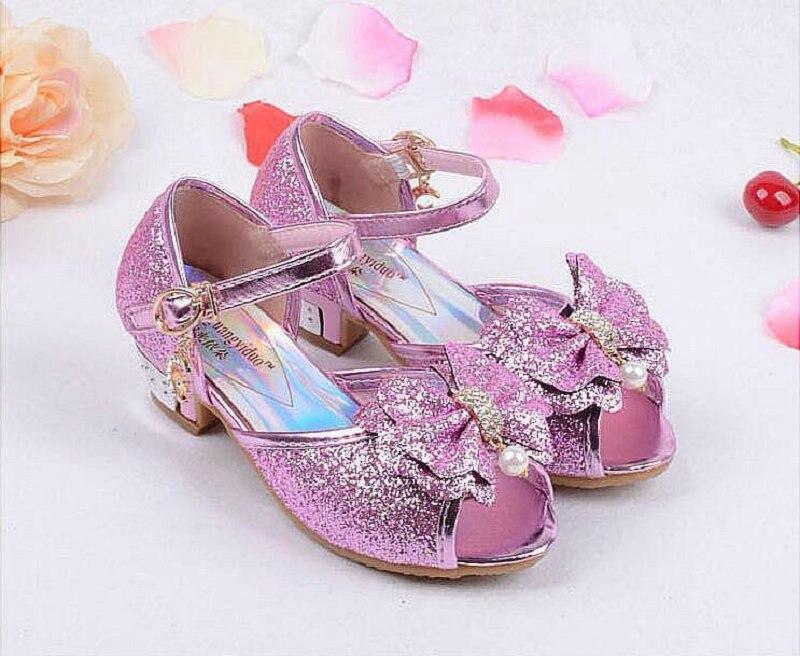 Nieuwe zomer prinses sandalen kinderen muiltjes klompen schoenen - Kinderschoenen - Foto 1