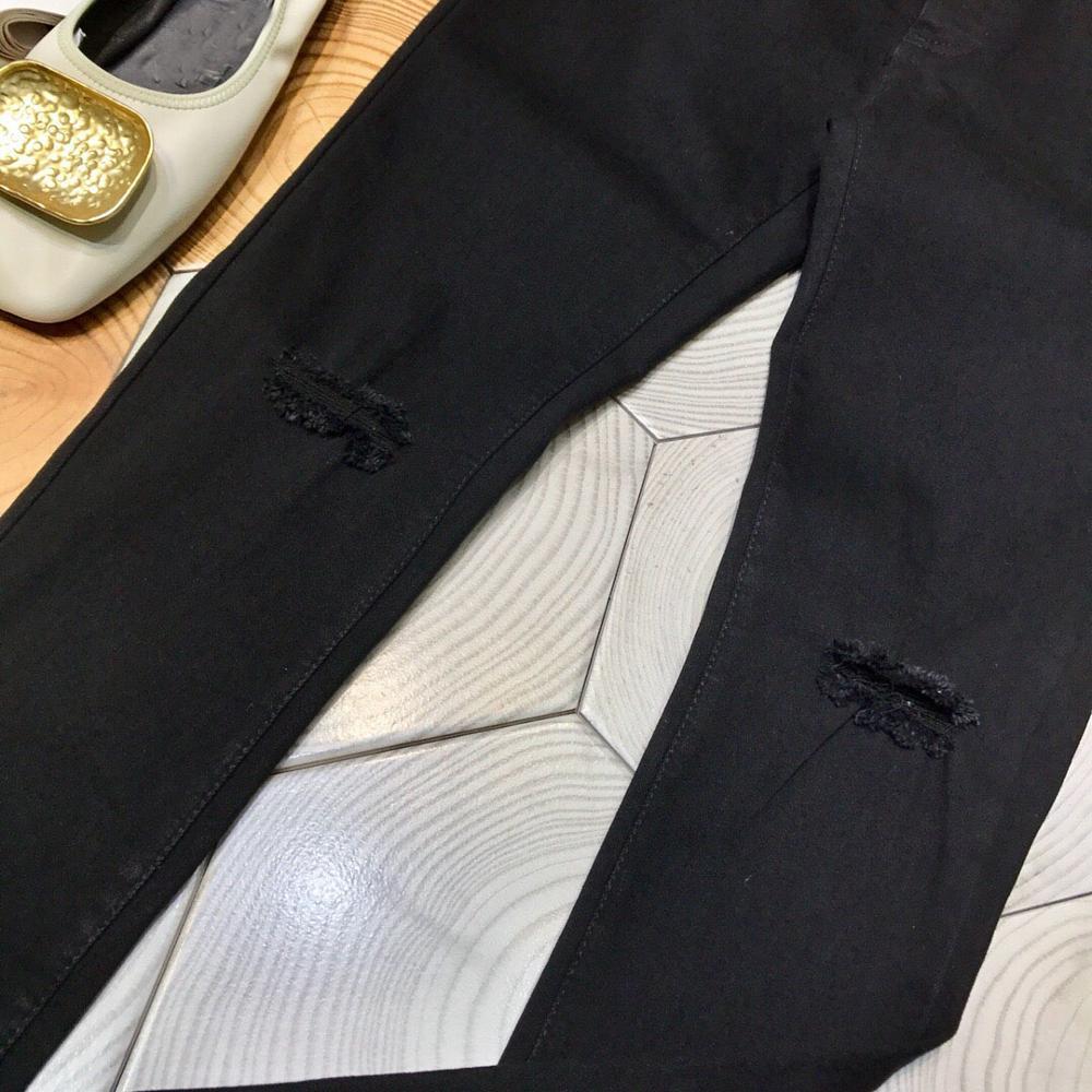 Printemps Pantalon Stretch Jeans 2019 Femmes Nouveau Ddxgz3 Trou Moulant dqwUX1UW