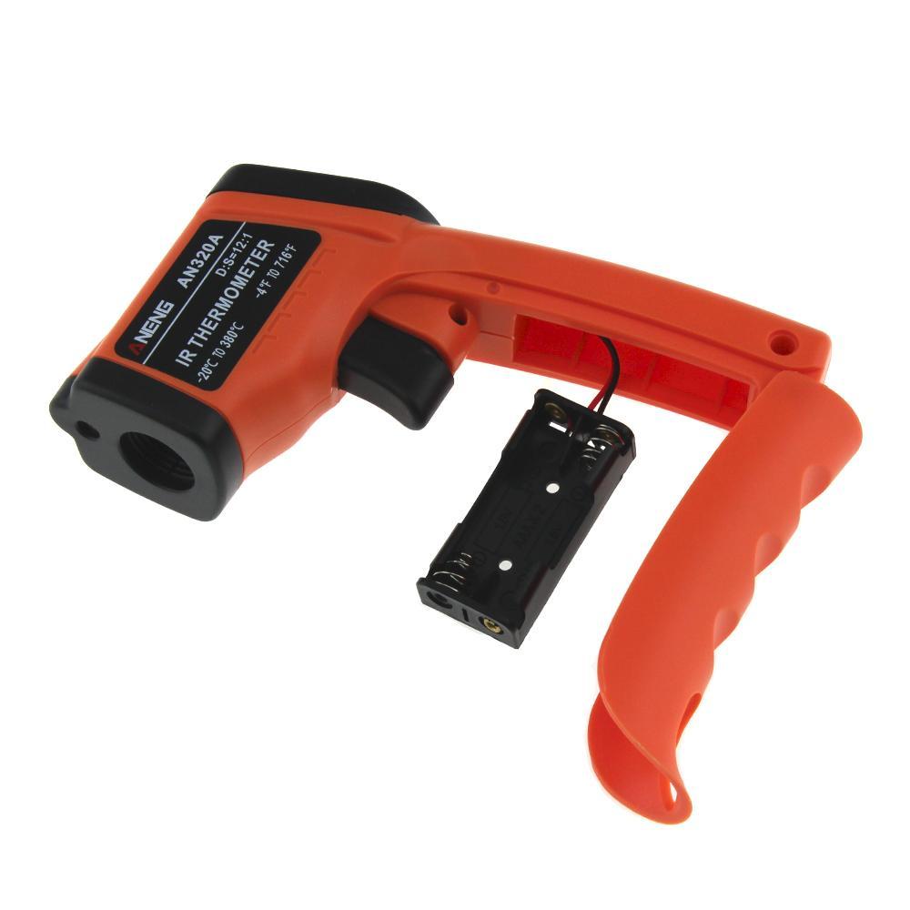 Original Aeneg Digitale Thermometer Rot Laser Infrarot Thermometer Berührungslose Ir Pyrometer Lcd Temperatur-messgerät Gun Point Messung Und Analyse Instrumente