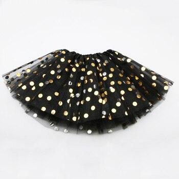 Elegant Polka Dot Polyester Skirt for Baby Girls 2