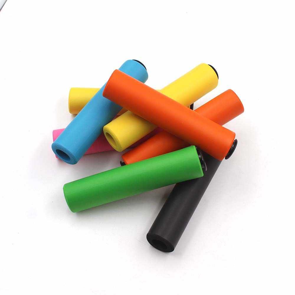 Ручки велоруля Ультралегкая силиконовая рукоятка балки MTB велосипедный руль противоскользящие ручки для велосипеда запчасти для велосипеда Аксессуары для велосипеда