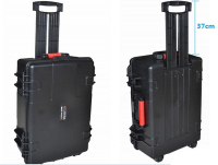 Tool trolley case tollbox Instrument meter case waterproof case 613*460*230mm security tool equipment camera with pre cut foam