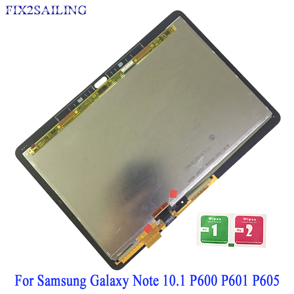 LCD Display For Samsung Galaxy Note 10.1 P600 P601 P605 SM-P600 Touch Screen Digitizer Replacement For SAMSUNG P600 P605 LCDLCD Display For Samsung Galaxy Note 10.1 P600 P601 P605 SM-P600 Touch Screen Digitizer Replacement For SAMSUNG P600 P605 LCD