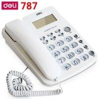 [Readstar] Deli 787 Тип сиденья Телефон Проводные телефоны домашнего офиса телефонный аппарат Идентификатор вызывающего абонента отображения запи...