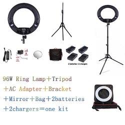 Yidoblo Black FD-480II LED Ring lamp Light Make up Lighting sefie ring lamp set + standing (2M)+ bag + batteries