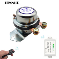 180A Neue Auto Batterie Schalter Drahtlose Fernbedienung Trennen Rast Relais Elektromagnetische Magnetventil Terminal Master|Heimautomatisierungsmodule|   -