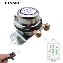 Interruptor de batería de coche 180A, Control remoto inalámbrico, relé de desconexión, válvula electromagnética, maestro de terminales