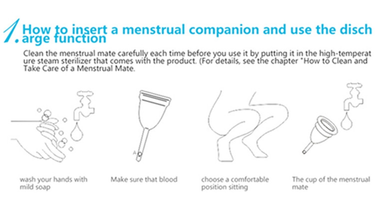 Women Silicone Menstrual Cup Diva Cup Copa Menstrual Coupe Menstruelle Feminine Hygiene Product Soft Diva Cup Aneercare 23