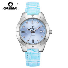 New Luxury Brand Watches Women Classic Grace Dress Women's Quartz Wrist Watch Calendar Display Waterproof 50m CASIMA #2620(China)