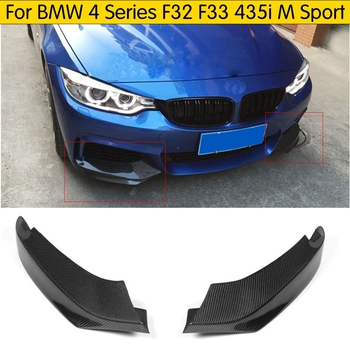 Carbon Fiber / FRP Racing Front Splitter Cupwing Lips for BMW 4 Series F32 F33 F36 M Sport Coupe & Convertible 2-Door 2014-2017 image
