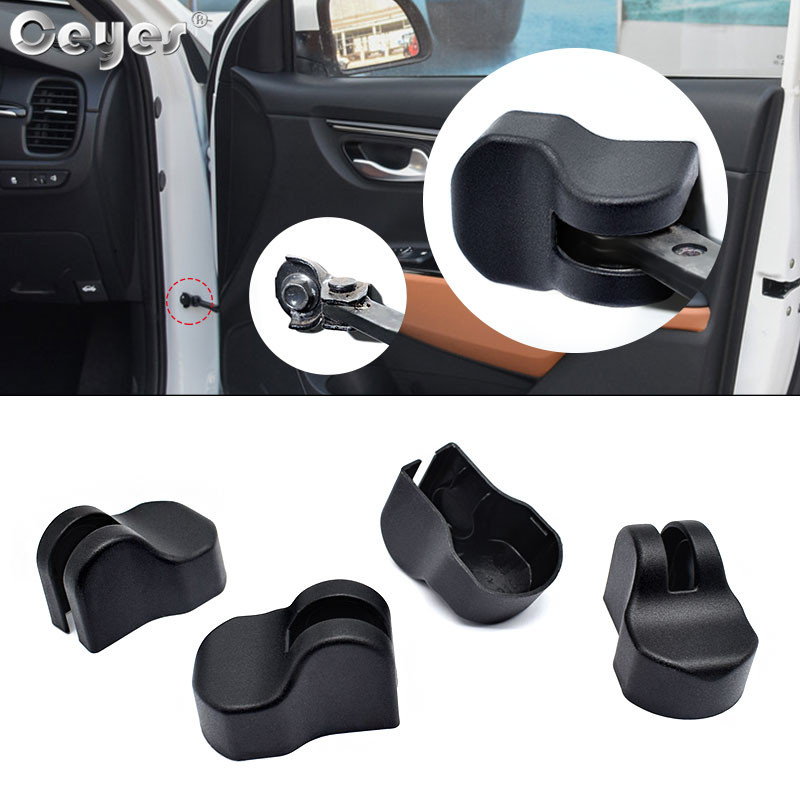 Ceyes Car Styling Protect And Decor Abs Door Lock Stopper Limiting Covers Case For Kia Rio 4 Cerato Sportage Forte Sorento Soul