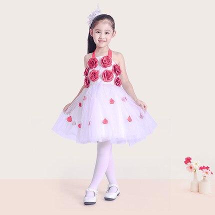 2 a 12 anni di età i bambini ragazza principessa partito tutu vestito da  cerimonia nuziale di spettacolo vestito dal fiore piccola principessa  bambino ... 24fd28c37c5
