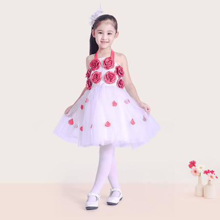 2 To 12 Year Old Children Princess Party Tutu Dress Wedding Pageant Flower Little Toddler Kids Clothes In Dresses From Mother On