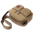Saco Crossbody Couro Bolsa de ombro Ocasional Sacos de Viagem 2017 Canva Militar Do Exército Homens Sacos Do Mensageiro Do Vintage Grande