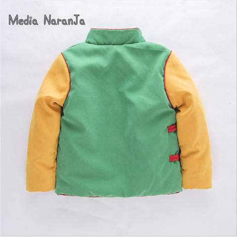 Baby Boy Goku Costume Jacket Infant Long Sleeve warm  Coat Baby children kids  Halloween Outwear Autumn Winter Jacket Multan