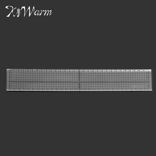 30cm Quilting Sewing Patchwork Foot Aligned Ruler Grid Cutting ... : quilting measuring tools - Adamdwight.com