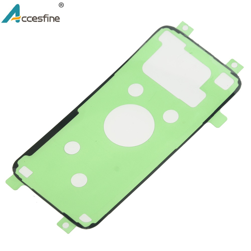 Image 2 - 20 x S6 S7 S8 Back Housing Adhesive Tape for Samsung Galaxy S6 S7 edge Back Glass Battery Cover Adhesive Sticker for S8 Plus-in Phone Sticker & Back Flim from Cellphones & Telecommunications