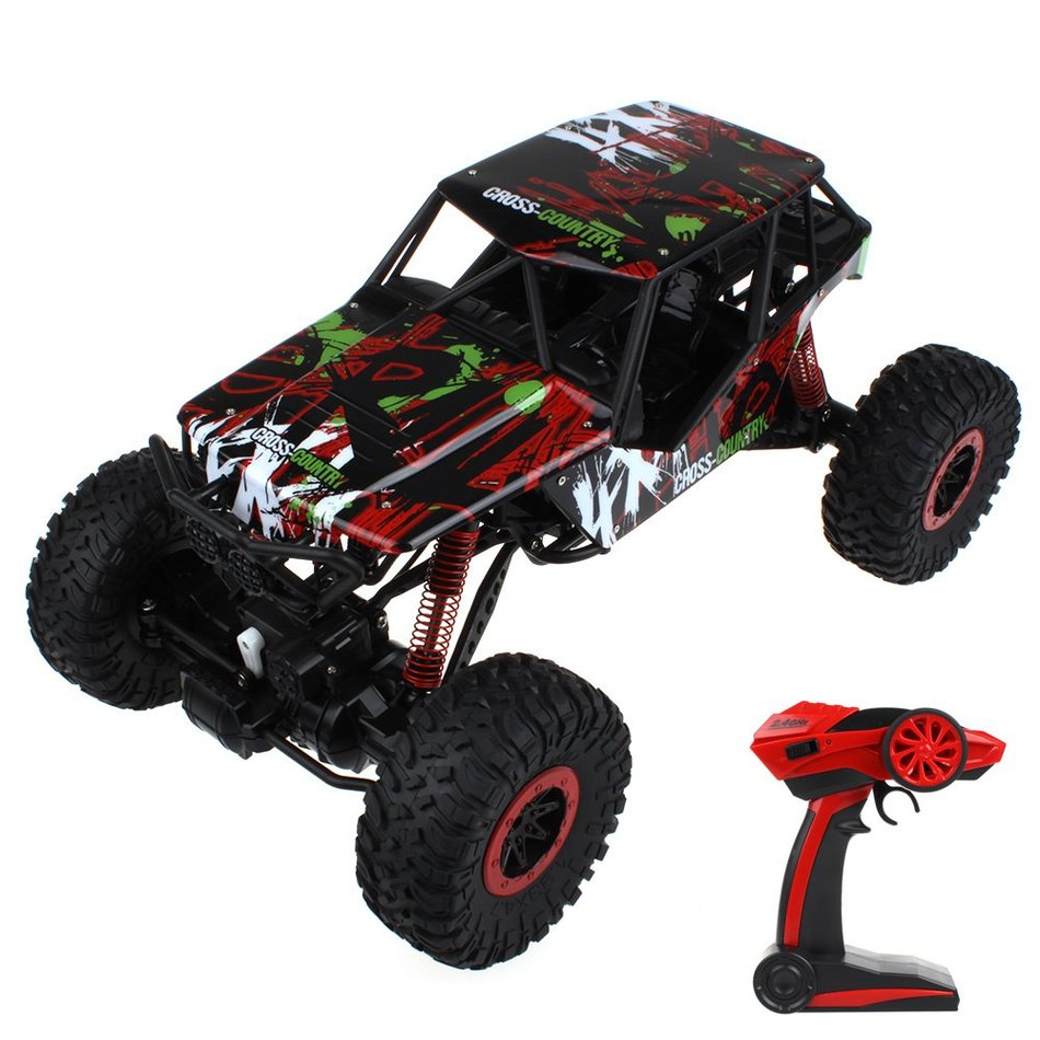 3 Fashion Colors Ready-to-go HB - P1003 Crawlers 4x4 Driving 2.4G Four wheel Drive Rally Car Exciting Game Toy promax driven wheel block for gy6 150cc scooters atvs go karts moped quads 4 wheeler dune buggys