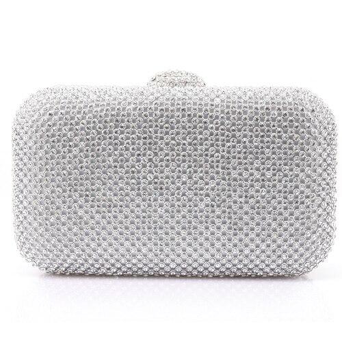 Nueva llegada de las mujeres de moda rhinestone bling bling diamante - Bolsos