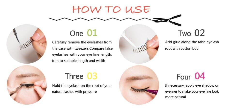 natural false eyelashes
