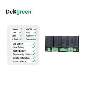 Image 3 - Qnbbm 4s 12vリチウム電池イコライザーバランサbmsリチウムイオンLiFePO4 lto lincm lmo 18650 diyパック保護