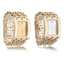 50pcs/lot Wholesale G&D Wristwatch Women Watch Quartz Gold Relogio Feminino Saat Dress Clock Female Reloj Mujer