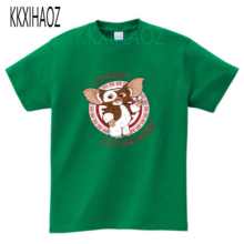 Cute Gremlins Gizmo Design Children Funny T shirt Baby Boys/Girls Short Sleeve Tops T-shirt Kids Summer Casual Clothes MJ цена