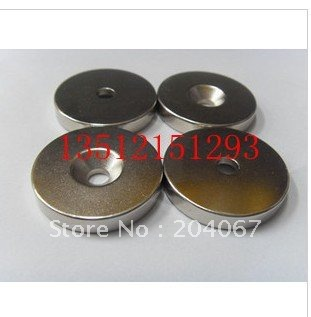 60X10 magnet -10 hole NdFeB 60*10  powerfull magnet d 60mmx10mm + hole10mm  strong magnet lodestone permanent magnet 2pcs/lot