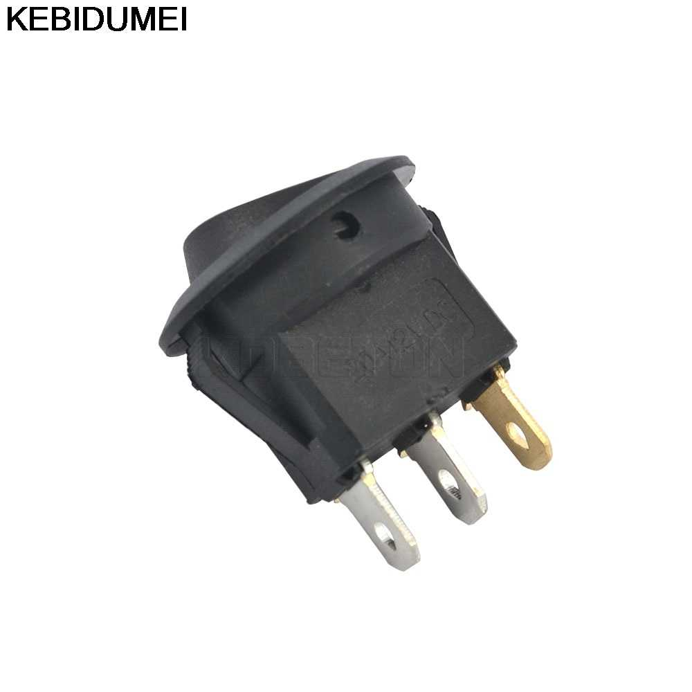 Detail Feedback Questions About 1pcs Spst Switch 12v Led Rocker Wiring Light On Off Dot 3 Pins