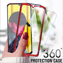 360 Full Protective Case For Xiaomi mi 9 8 A2 Lite A1 6X 5X Case For Redmi Note 7 5 6 Pro 4x 5 Plus 4A 5A 6A Cover With Glass(China)